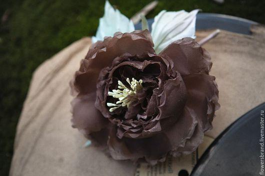 Цветы ручной работы. Ярмарка Мастеров - ручная работа. Купить Роза. Handmade. Комбинированный, брошь цветок, аксессуары ручной работы