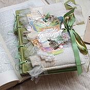 Подарки к праздникам handmade. Livemaster - original item Scrapbook album