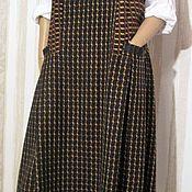 Одежда handmade. Livemaster - original item Sleeveless winter wool. Handmade.