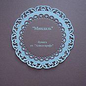 """Бумага ручной работы. Ярмарка Мастеров - ручная работа """"Миндаль""""  - инновационная бумага цвета какао с молоком. Handmade."""