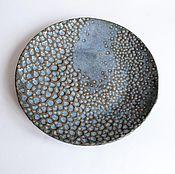 """Посуда ручной работы. Ярмарка Мастеров - ручная работа Тарелка """"Космическое кружево"""". Handmade."""
