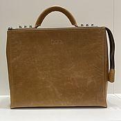 Сумки и аксессуары handmade. Livemaster - original item Dandy leather briefcase bag. Handmade.