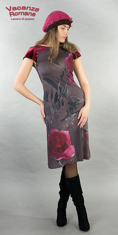 Платья ручной работы. Ярмарка Мастеров - ручная работа. Купить Vacanze Romane-946. Handmade. Авторское платье, дизайнерская одежда
