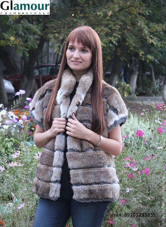 Fur vest, Vests, Nizhny Novgorod,  Фото №1