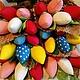 Цветы ручной работы. Ярмарка Мастеров - ручная работа. Купить Тюльпаны Тильда из ткани. Handmade. Цветы, тюльпаны из конфет, синтепон