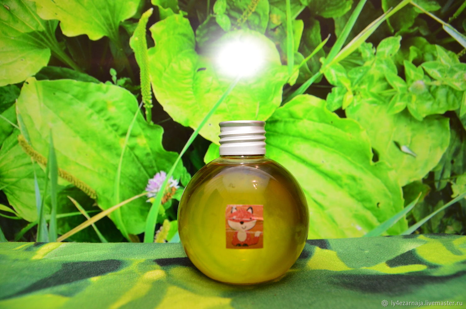 Oil of plantain (infus cold extraction) from Chanterelles, Oil, Moscow,  Фото №1