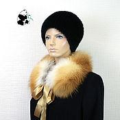 Аксессуары handmade. Livemaster - original item Fur collar transformer from red Fox. Three options for socks.. Handmade.