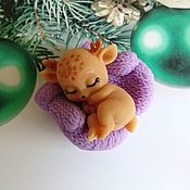 Косметика ручной работы handmade. Livemaster - original item soap: A fawn as a gift. Handmade.
