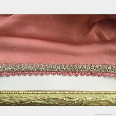 Материалы для творчества ручной работы. Ярмарка Мастеров - ручная работа 407 Ткань антикварная. Handmade.