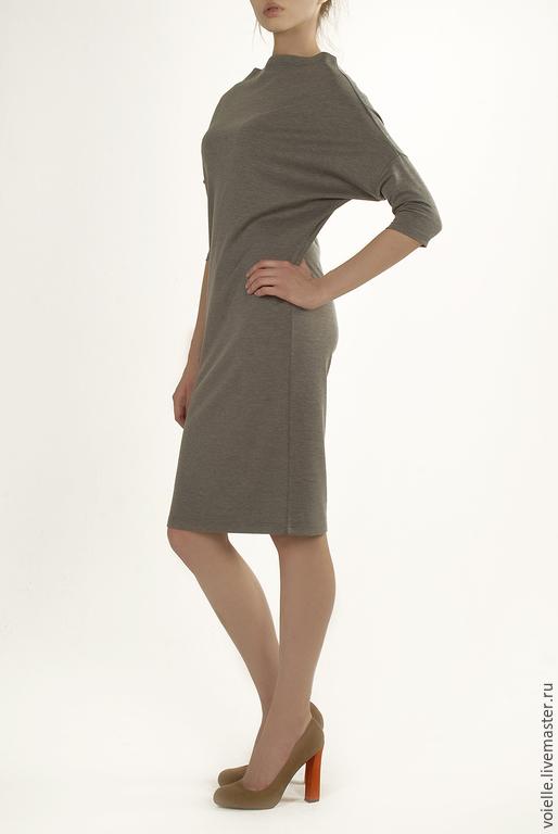 платья из плотного трикотажа купить в москве