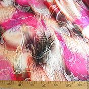 """Ткани ручной работы. Ярмарка Мастеров - ручная работа Шелк-атлас Roberto Cavalli """"Лючия"""" итальянские ткани. Handmade."""