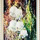 """Картины цветов ручной работы. Ярмарка Мастеров - ручная работа. Купить """"Ландыши"""". Handmade. Ландыши, комбинированный, картина для женщины, акрил"""