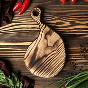 Cutting Boards handmade. Livemaster - original item Board for cutting and serving in the style of