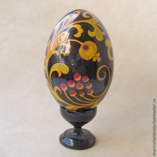 Яйцо  Хохлома, Яйца, Москва,  Фото №1