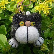 """Куклы и игрушки ручной работы. Ярмарка Мастеров - ручная работа Игрушка-брелок """"Кот Борис"""". Handmade."""