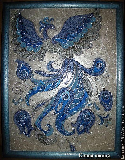 Синяя птица счастья будет хорошим подарком близкому человеку и принесет удачу