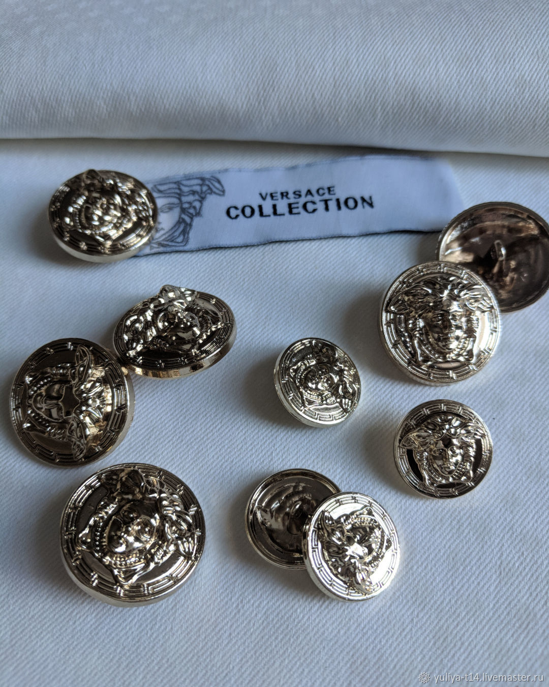 Buttons in the style of Versace, Buttons, Mytishchi,  Фото №1