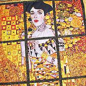 Для дома и интерьера ручной работы. Ярмарка Мастеров - ручная работа Покрывало Золотая Адель  Климт. Handmade.