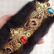 """Диадемы ручной работы. Ярмарка Мастеров - ручная работа Корона-повязка""""Sicilian  Queen """" в стиле DG. Handmade."""
