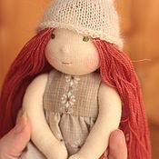 Вальдорфские куклы и звери ручной работы. Ярмарка Мастеров - ручная работа Вальдорфская кукла Мия 18 см. Handmade.