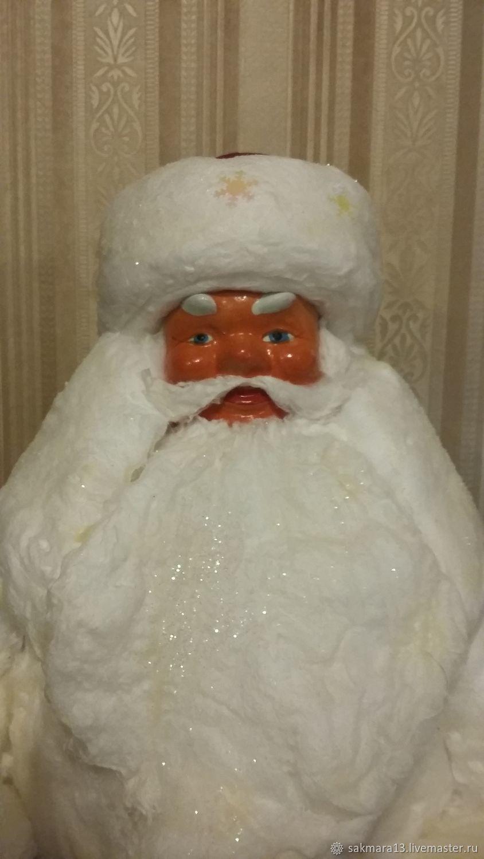 Santa Claus from cotton wool restoration, Dolls, Magnitogorsk,  Фото №1
