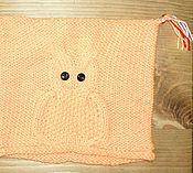 Работы для детей, ручной работы. Ярмарка Мастеров - ручная работа шапка сова оранжевая. Handmade.