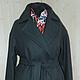 Верхняя одежда ручной работы. Ярмарка Мастеров - ручная работа. Купить пальто-оверсайз 6. Handmade. Большие размеры, однотонный