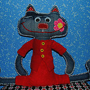 Куклы и игрушки ручной работы. Ярмарка Мастеров - ручная работа Кот. Handmade.