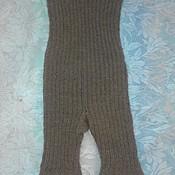 Одежда ручной работы. Ярмарка Мастеров - ручная работа Панталоны бесшовные  с ластовицей , 100% натуральная верблюжья  шерсть. Handmade.