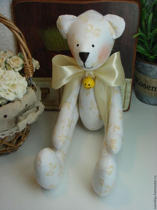 Куклы Тильды ручной работы. Ярмарка Мастеров - ручная работа. Купить Мишка. Handmade. Белый, мишка девочка, интерьер, медведь