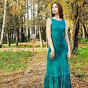 Одежда handmade. Livemaster - original item Felted evening dress