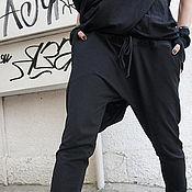 Брюки ручной работы. Ярмарка Мастеров - ручная работа Черные брюки. Handmade.