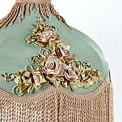 Для дома и интерьера ручной работы. Ярмарка Мастеров - ручная работа Винтажные абажуры с вышивкой. Handmade.