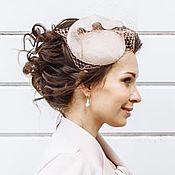 Аксессуары handmade. Livemaster - original item wedding hat