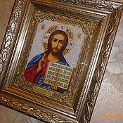 Картины и панно handmade. Livemaster - original item The Lord Almighty. Handmade.