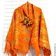 """Шали, палантины ручной работы. Ярмарка Мастеров - ручная работа. Купить Палантин """"Осень"""". Handmade. Оранжевый, палантин"""