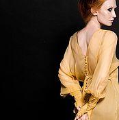 """Одежда ручной работы. Ярмарка Мастеров - ручная работа Шелковые платья """"MIMOSA 1.25"""". Handmade."""