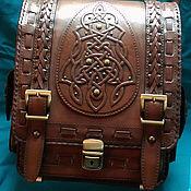 "Сумки и аксессуары handmade. Livemaster - original item Leather bag ""CELTIC"". Handmade."
