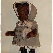 Куклы и игрушки ручной работы. Ярмарка Мастеров - ручная работа Мишкина прогулка. Handmade.
