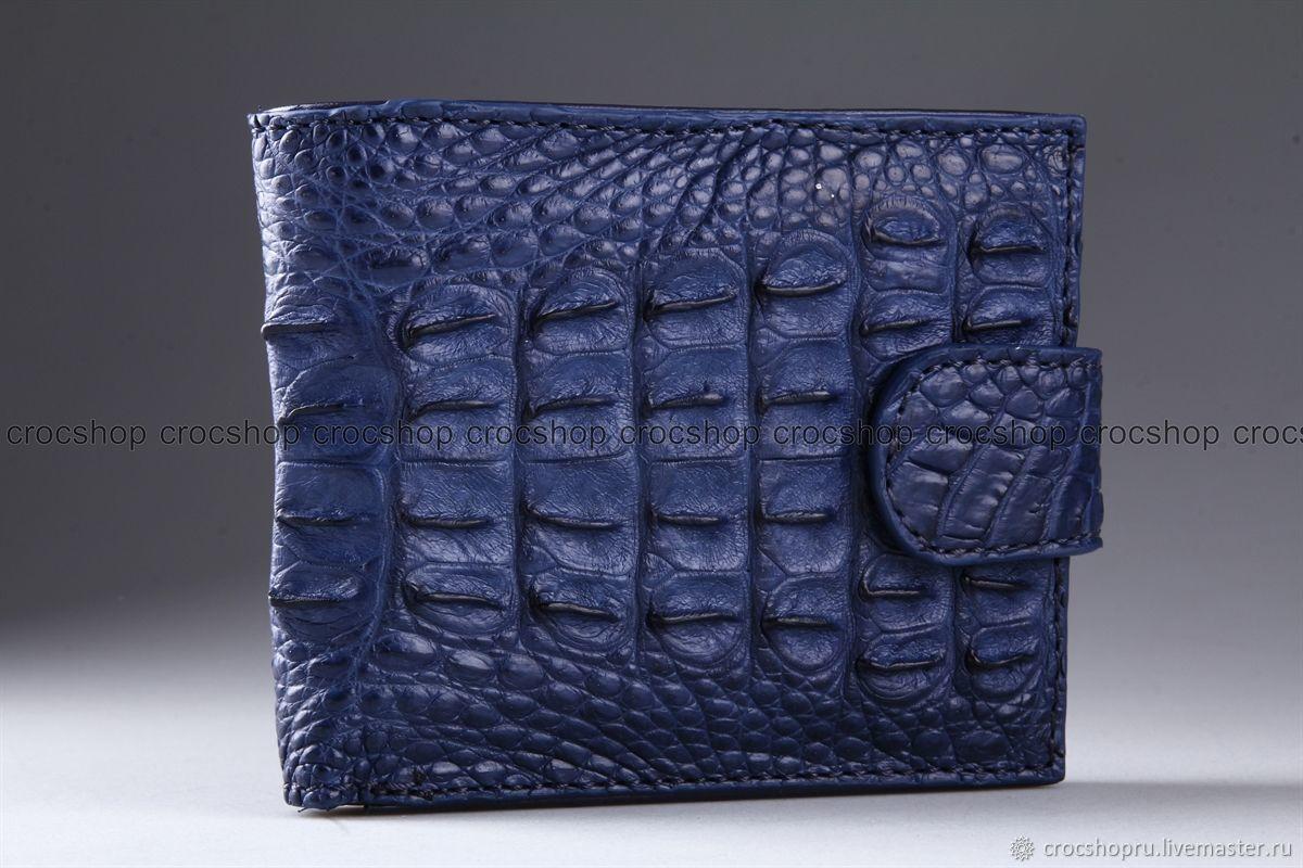 Бумажник из кожи крокодила IMA0224C22, Кошельки, Москва,  Фото №1