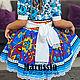 Одежда для девочек, ручной работы. Заказать Платье РЧ-8/хохлома. Marussia / Маруся. Ярмарка Мастеров. Платье нарядное