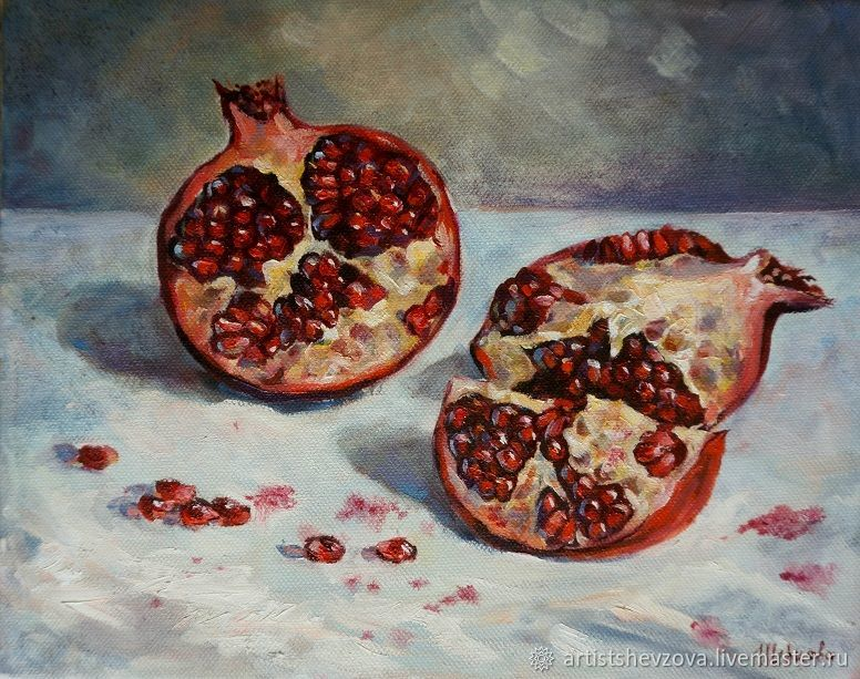 Still life with pomegranate, Pictures, Voronezh,  Фото №1