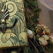 """Для дома и интерьера ручной работы. Ярмарка Мастеров - ручная работа """"Мятный сад"""" ключница. Handmade."""