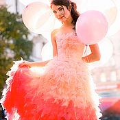 """Одежда ручной работы. Ярмарка Мастеров - ручная работа Платье """"Пудровый Зефир"""". Handmade."""