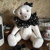 Мишки Тедди ручной работы. Ярмарка Мастеров - ручная работа Тедди мишка Светланка-модница. Handmade.