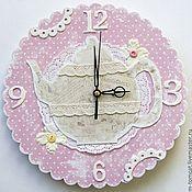 """Для дома и интерьера ручной работы. Ярмарка Мастеров - ручная работа Часы """"чайничек"""". Handmade."""