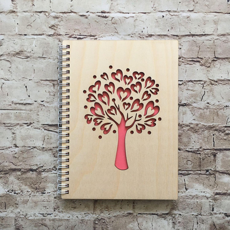 Блокнот в деревянной обложке, Блокноты, Рязань,  Фото №1