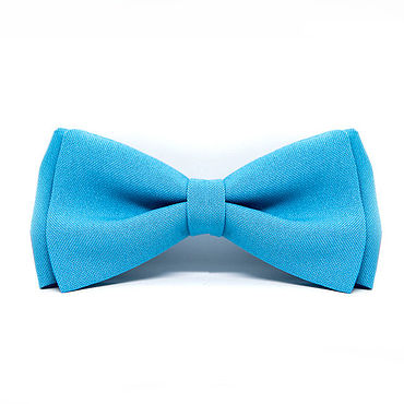 Accessories handmade. Livemaster - original item Baby bow tie blue. Handmade.