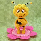 Куклы и игрушки ручной работы. Ярмарка Мастеров - ручная работа Пчелка Майя. Handmade.