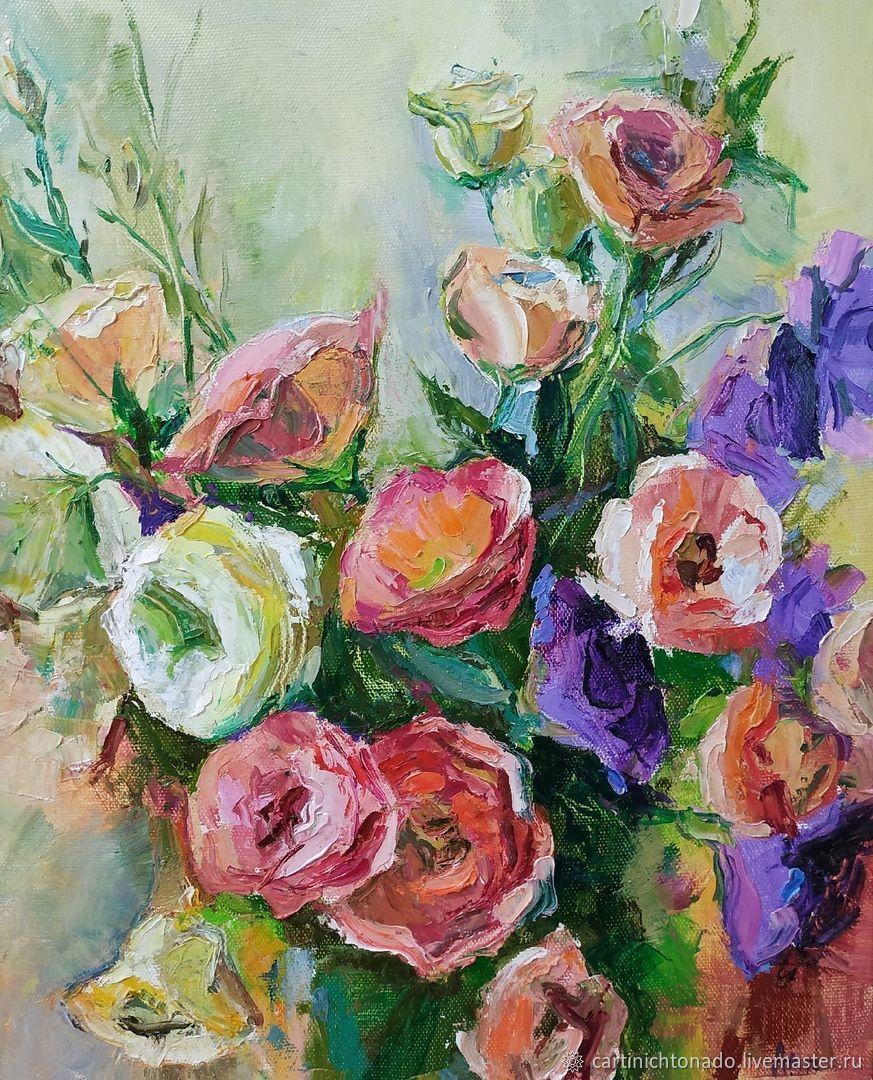 Цветочное настроение, Картины, Севастополь,  Фото №1